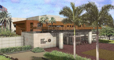 US Embassy in Mauritania - limestone cladding