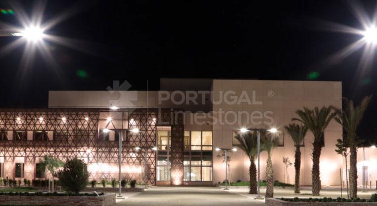 US Embassy in Mauritania - limestone cladding