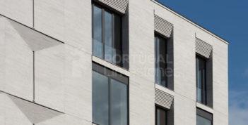 Grey limestone cladding - Moscow